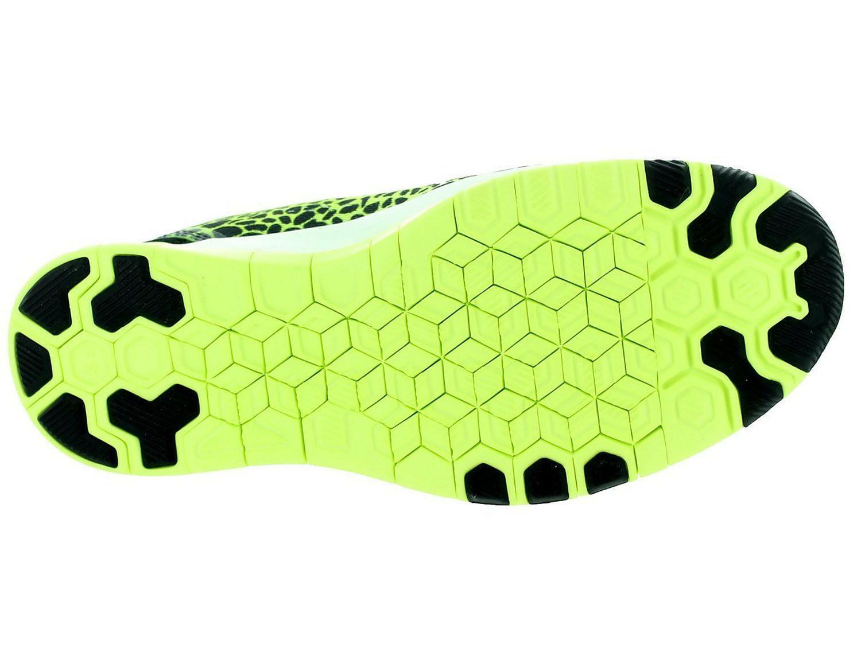 nike nike wmns free 5.0 tr fit 5 prt scarpe sportive donna gialle nere tela 704695
