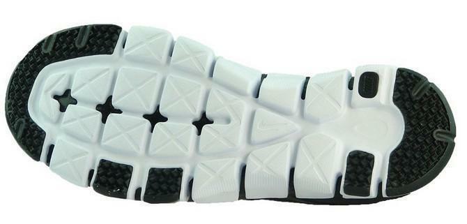 nike nike flex show tr 3 scarpe sportive uomo nere pelle tela 684701