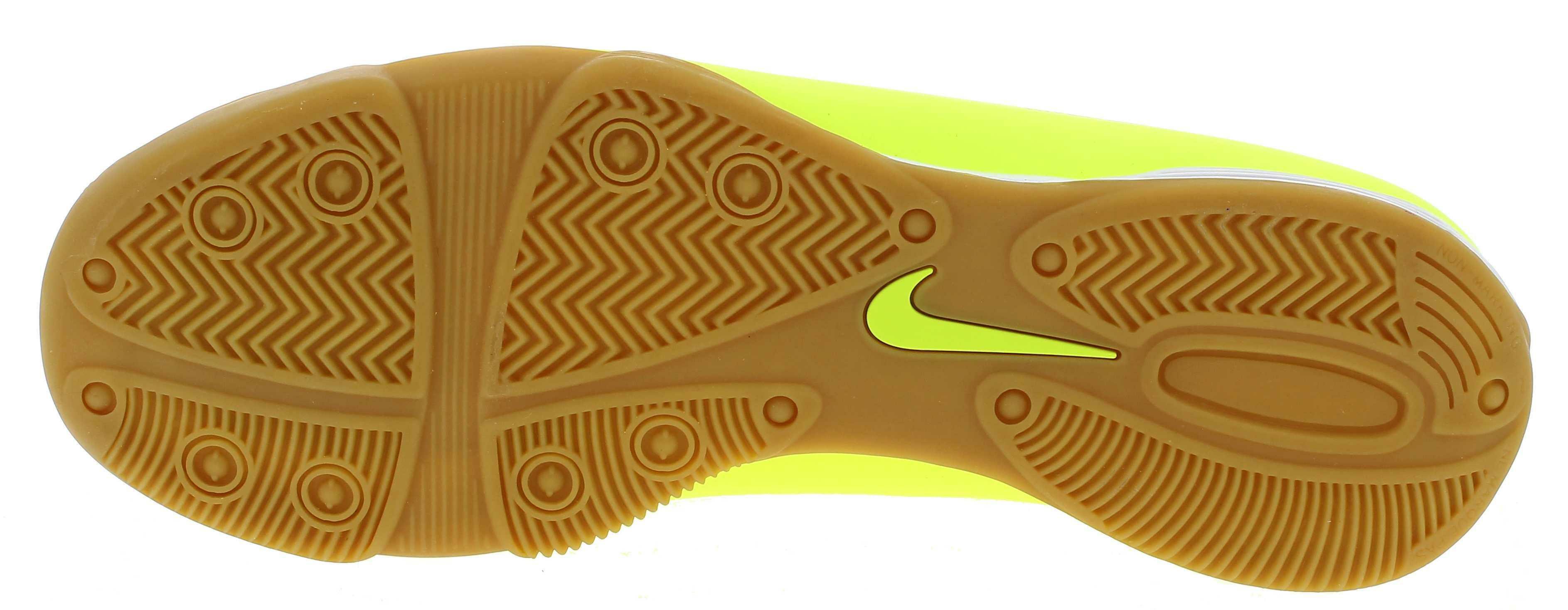 nike nike hypervenom phade ic scarpini calcetto uomo gialli pelle indoor 599810
