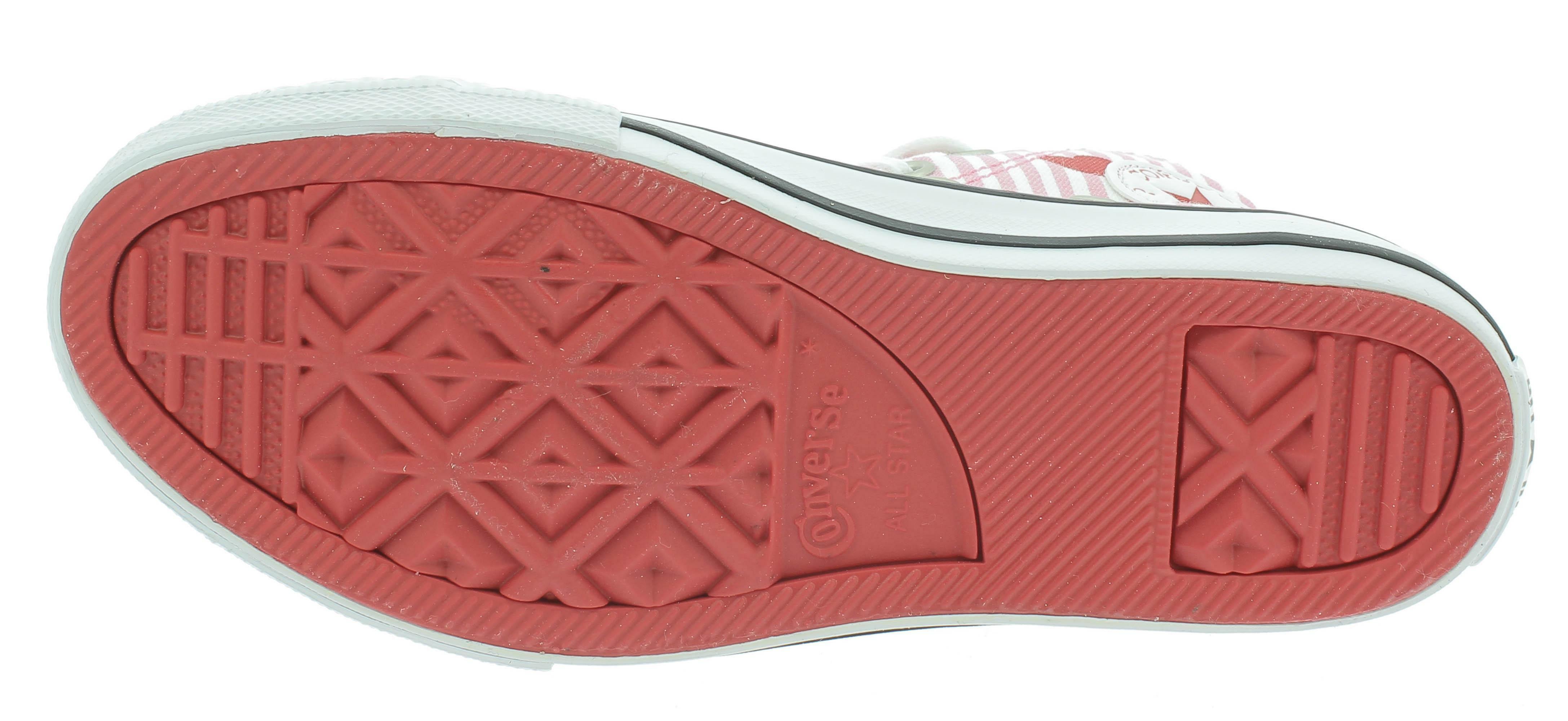 converse ctas hi scarpe sportive bambina rosa 663993c