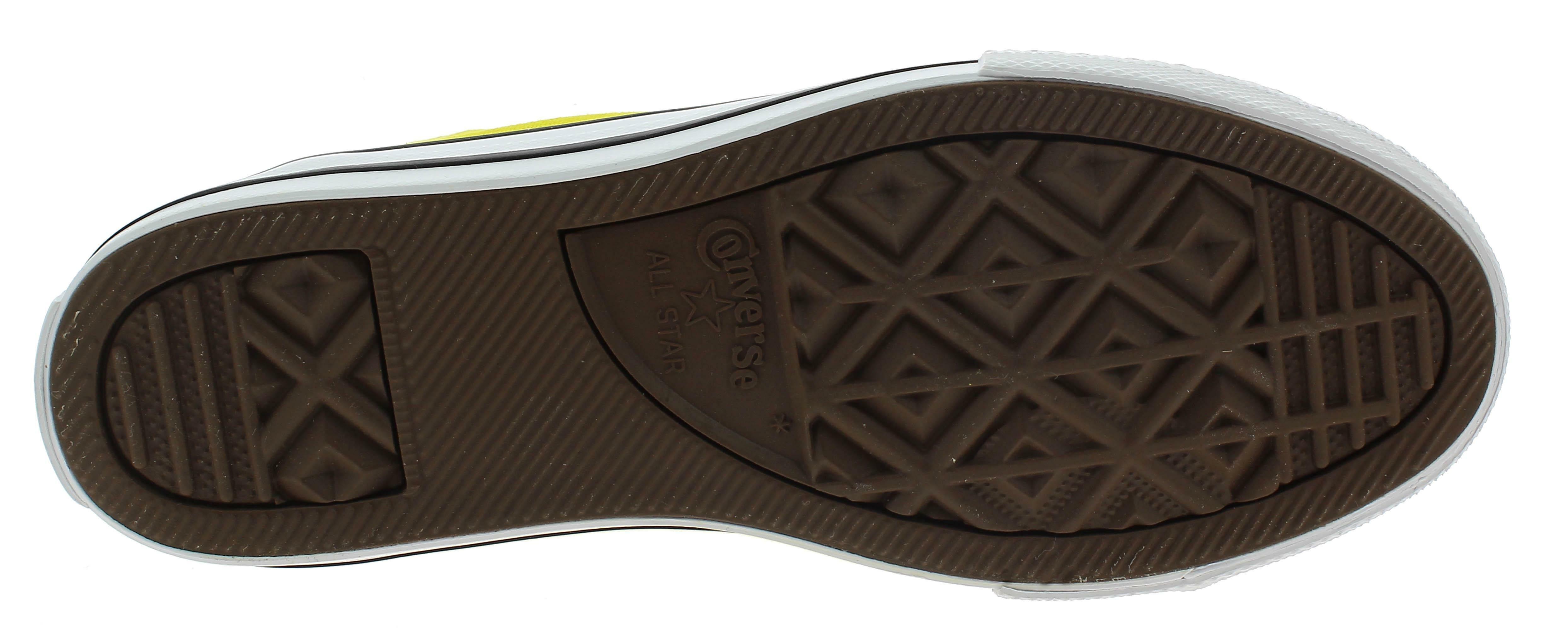 converse ctas hi scarpe sportive bambino gialle 663629