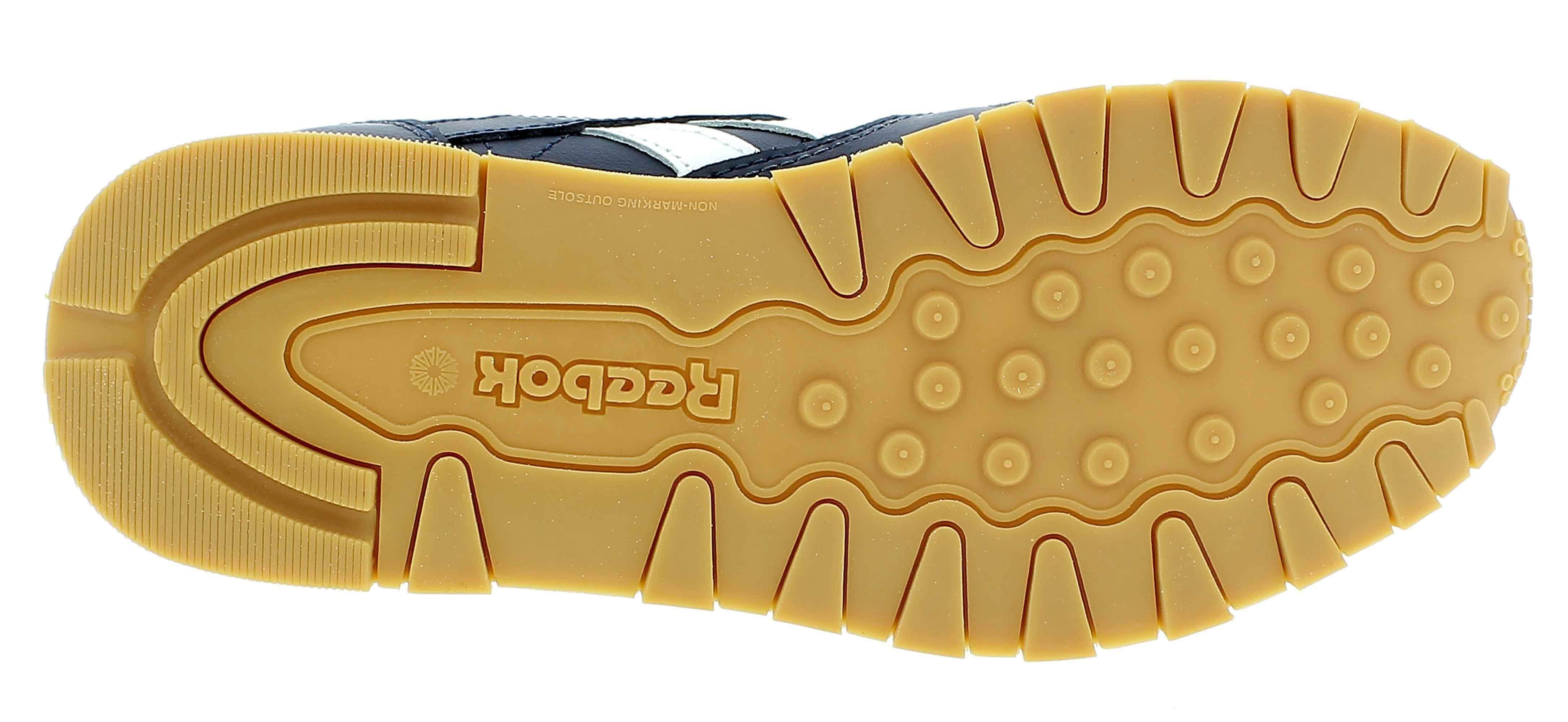 reebok classic leather scarpe sportive bambino blu dv4571