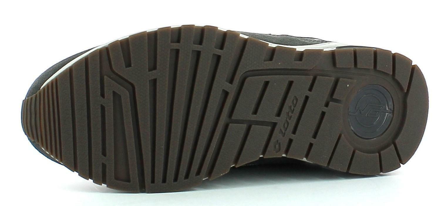 lotto lotto t-leader scarpe sportive grigie