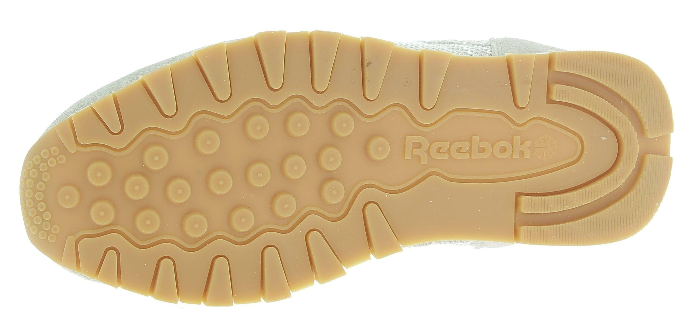 reebok reebok classic lthr ebk scarpe sportive beige
