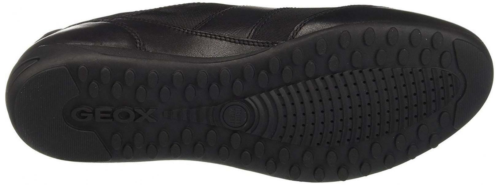 geox u wells scarpe uomo nere u74t5ac999