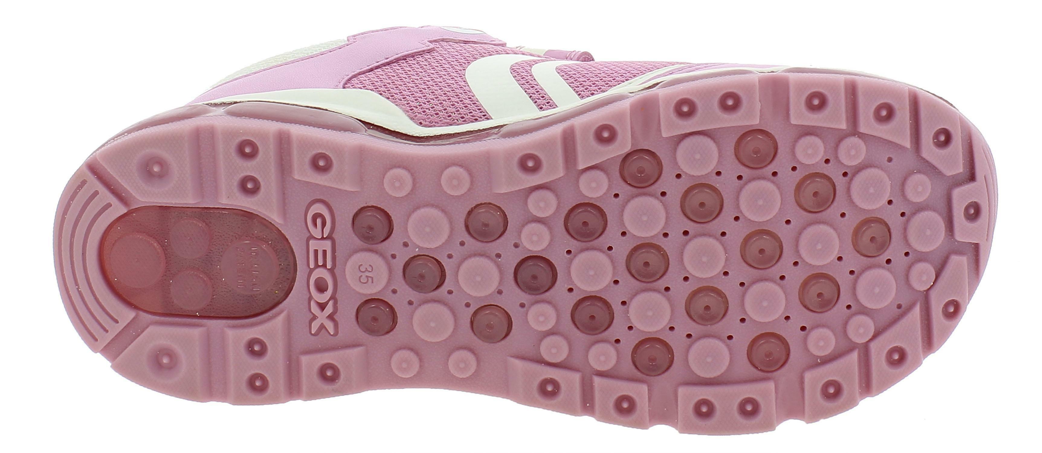 geox j android g scarpe sportive bambina rosa j9245bc0550