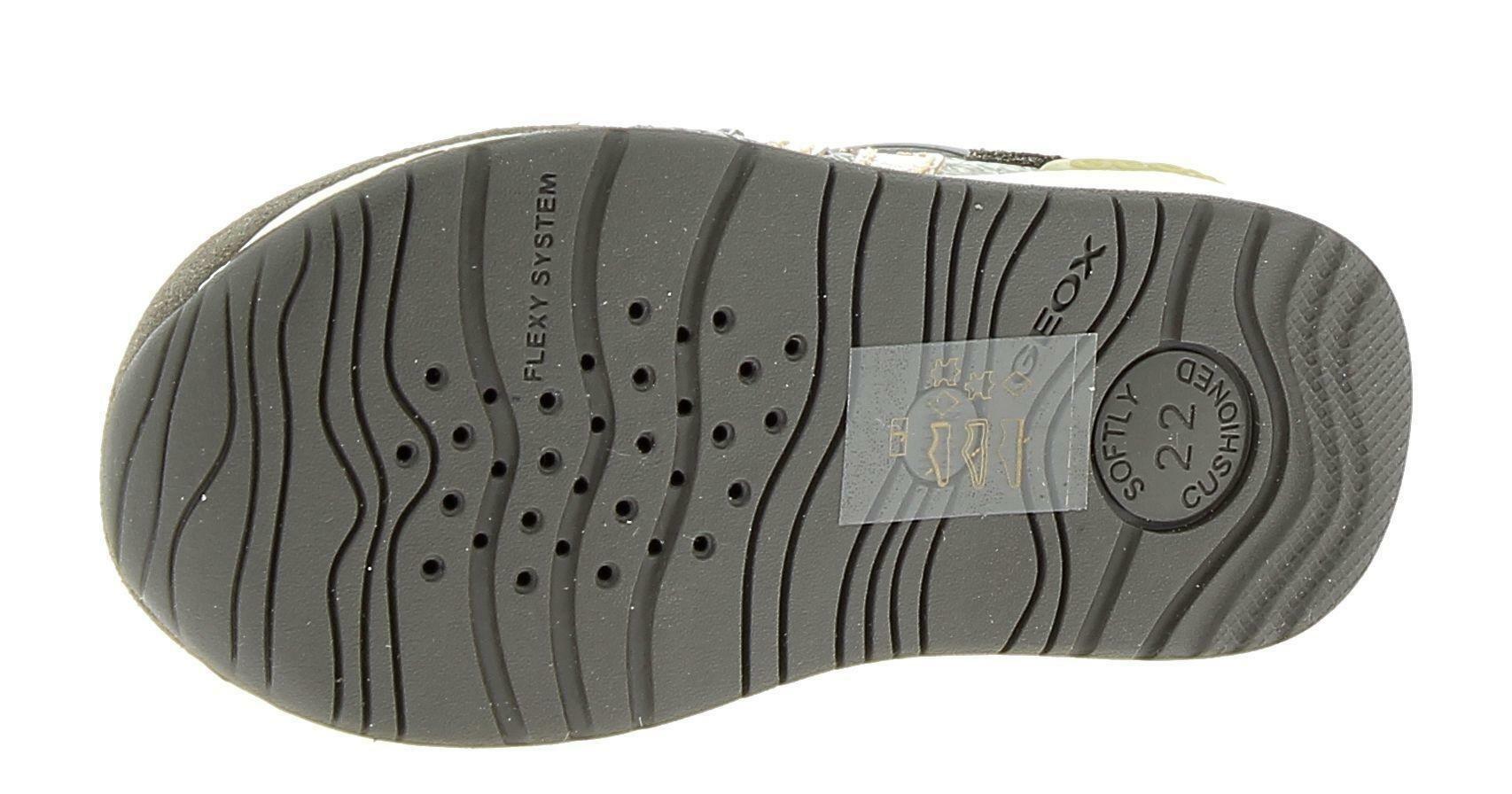 geox geox b rishon g scarpe sportive bambina marroni