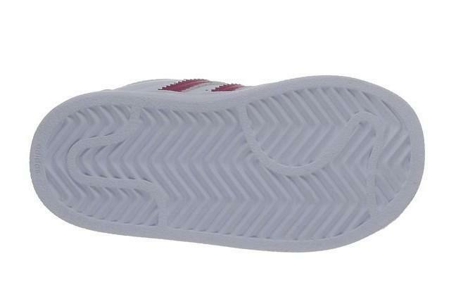 adidas adidas superstar foundation cf i scarpe bambina bianche pelle strappi b23639