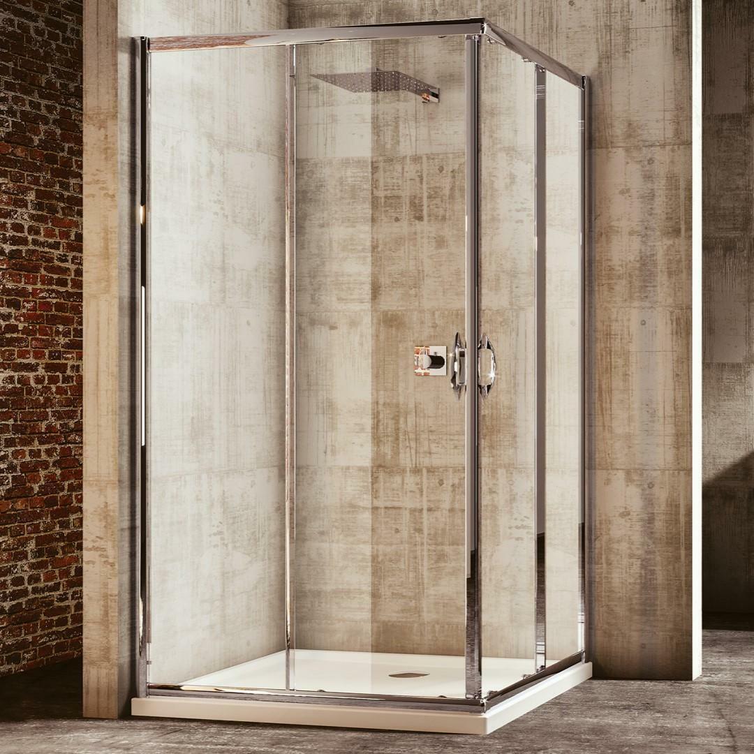 specialisti del bagno box doccia malaga scorrevole 80x110 reversibile trasparente  specialistidelbagno