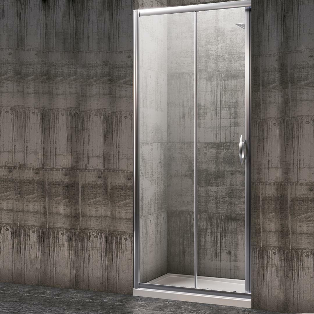 specialisti del bagno box doccia malaga porta nicchia 90 reversibile trasp. specialistidelbagno