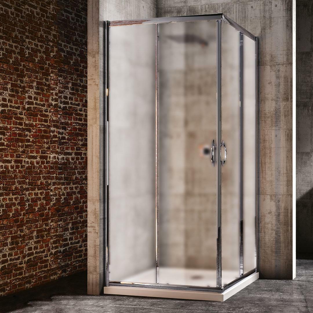 specialisti del bagno box doccia malaga scorrevole 80x90 reversibile crepé specialistidelbagno
