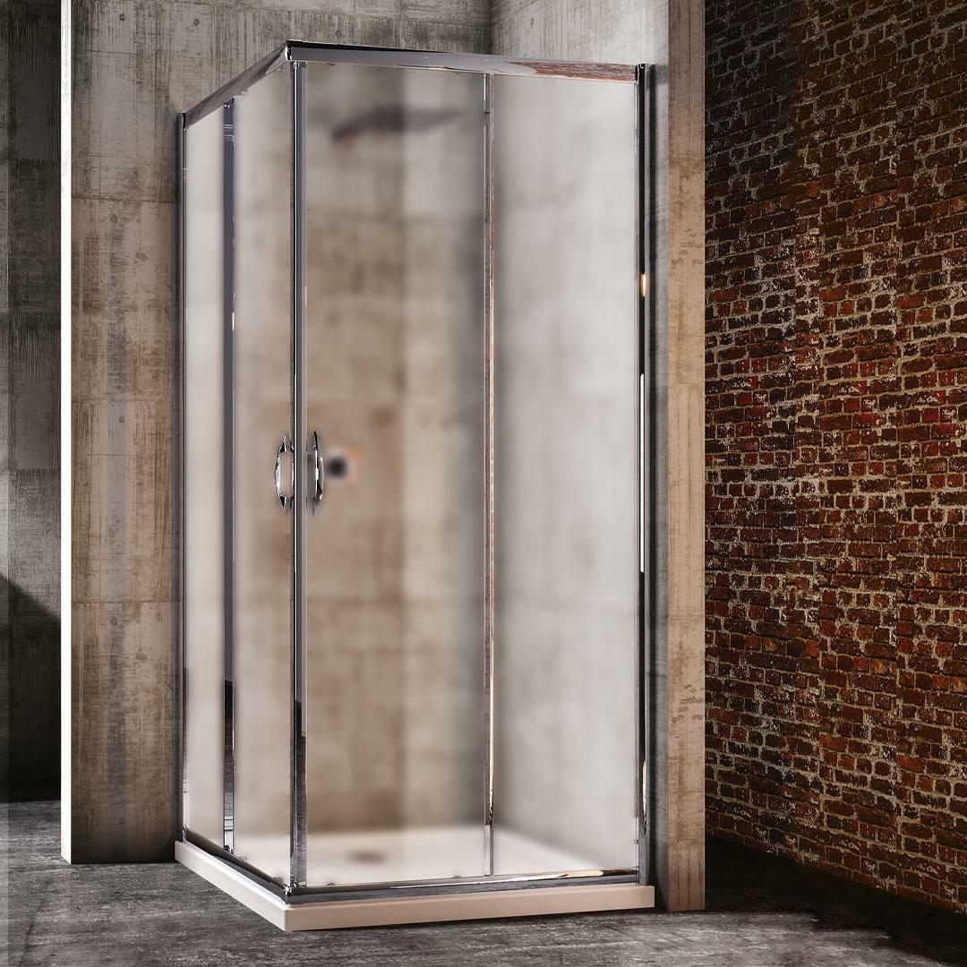 specialisti del bagno box doccia malaga scorrevole 90x120 reversibile crepé specialistidelbagno