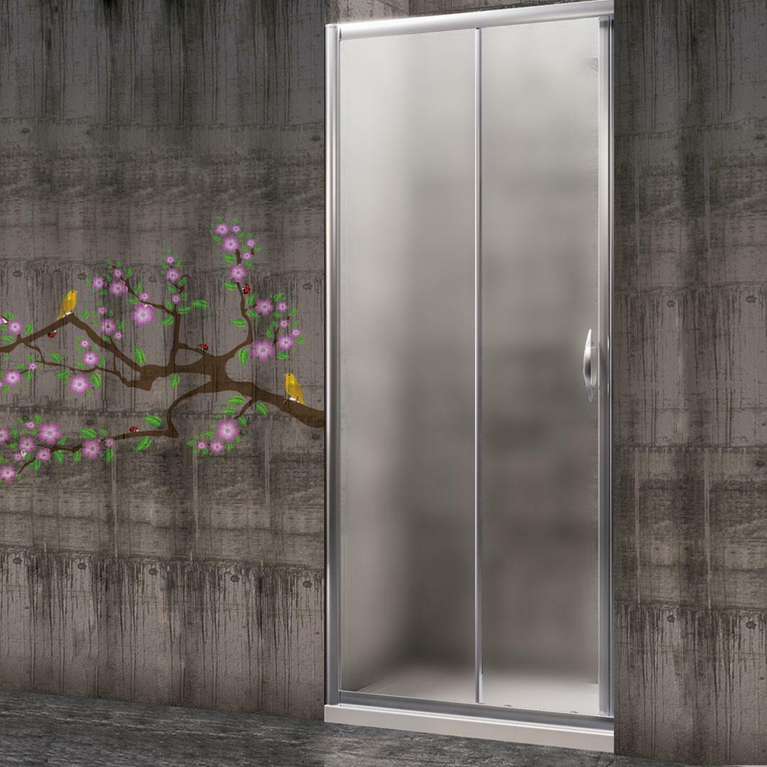 specialisti del bagno box doccia malaga porta nicchia 130 reversibile crepé specialistidelbagno