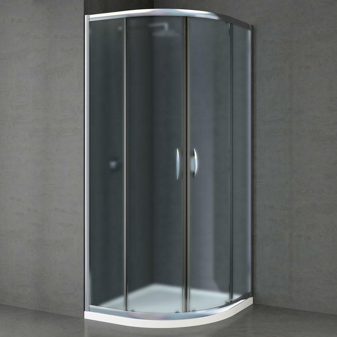 specialisti del bagno box doccia malaga scorrevole semicircolare 90x90 reversibile crepé specialistidelbagno