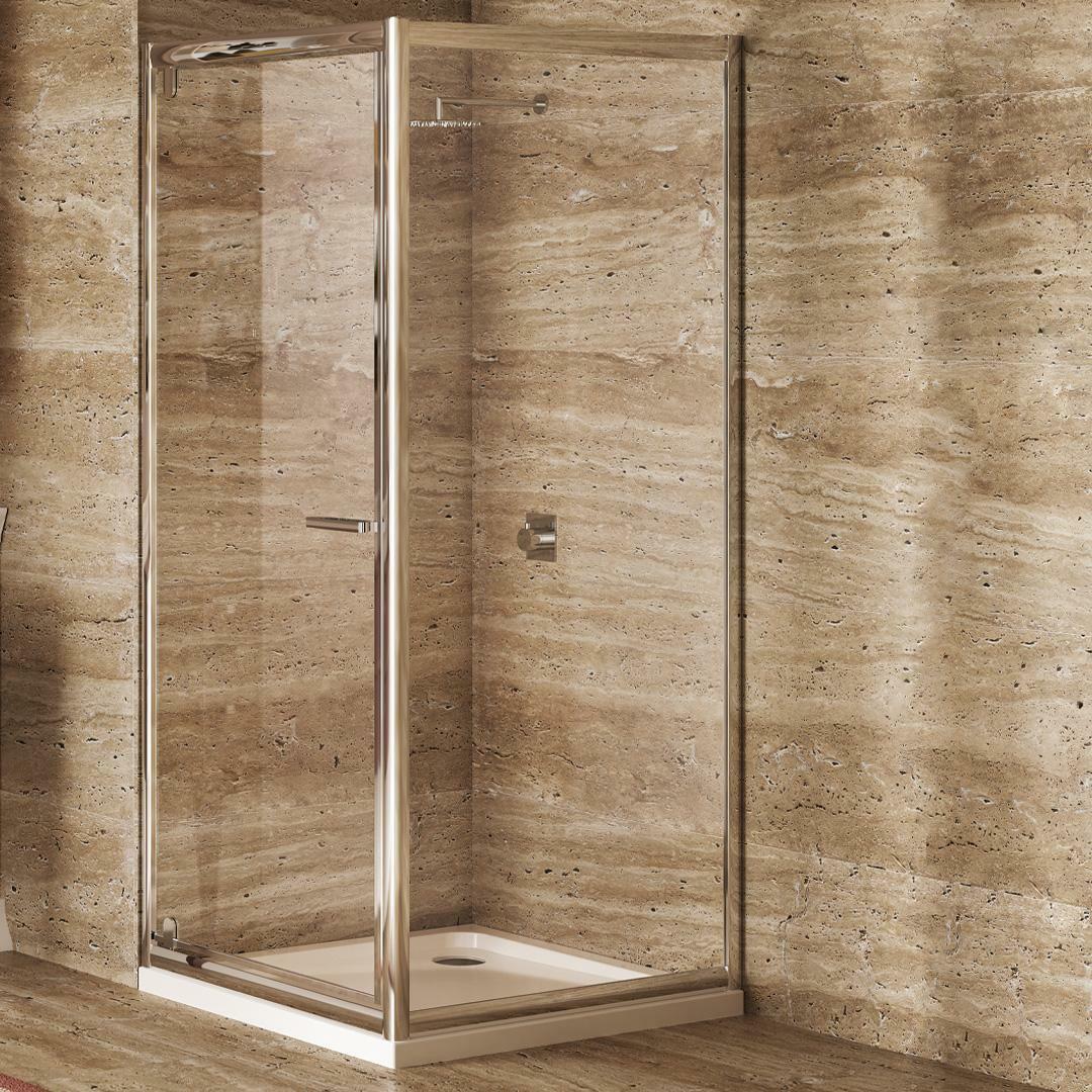 specialisti del bagno box doccia lepanto porta battente e lato fisso 70x70 reversibile trasp. specialistidelbagno