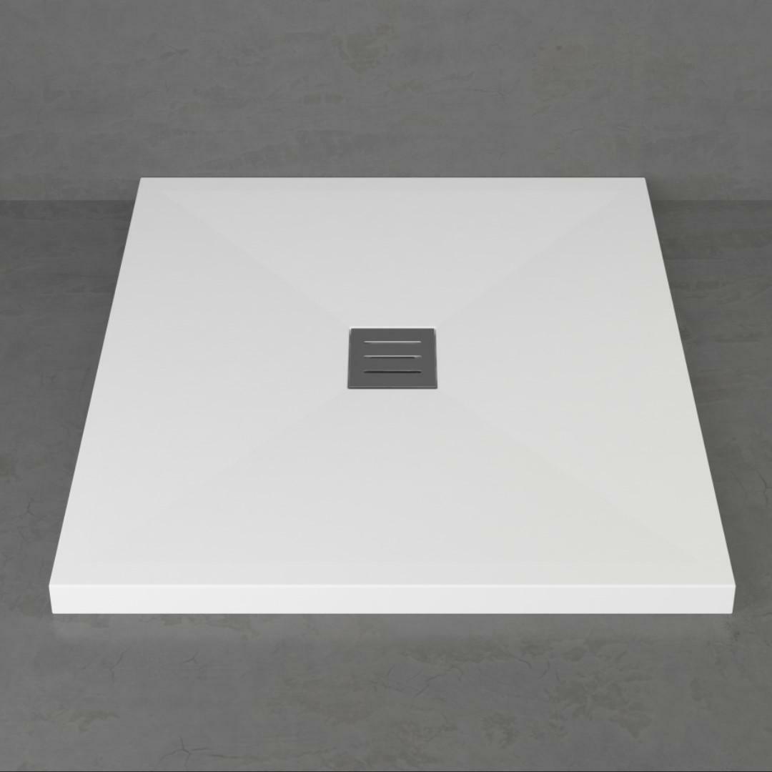 specialisti del bagno piatto doccia diamond flat senza bordo quadrato 70x70 h4 specialistidelbagno