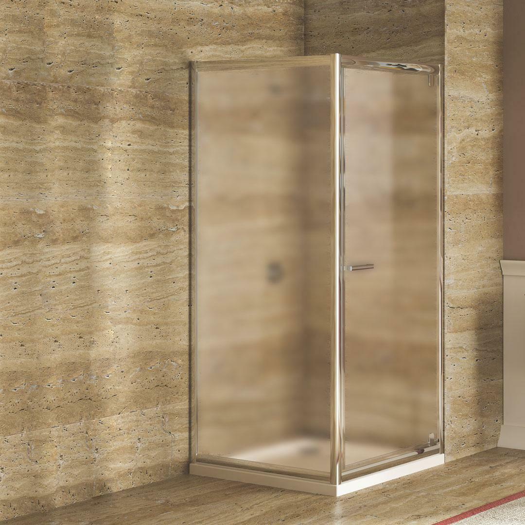 specialisti del bagno box doccia lepanto porta battente e lato fisso 80x100 reversibile crepé specialistidelbagno