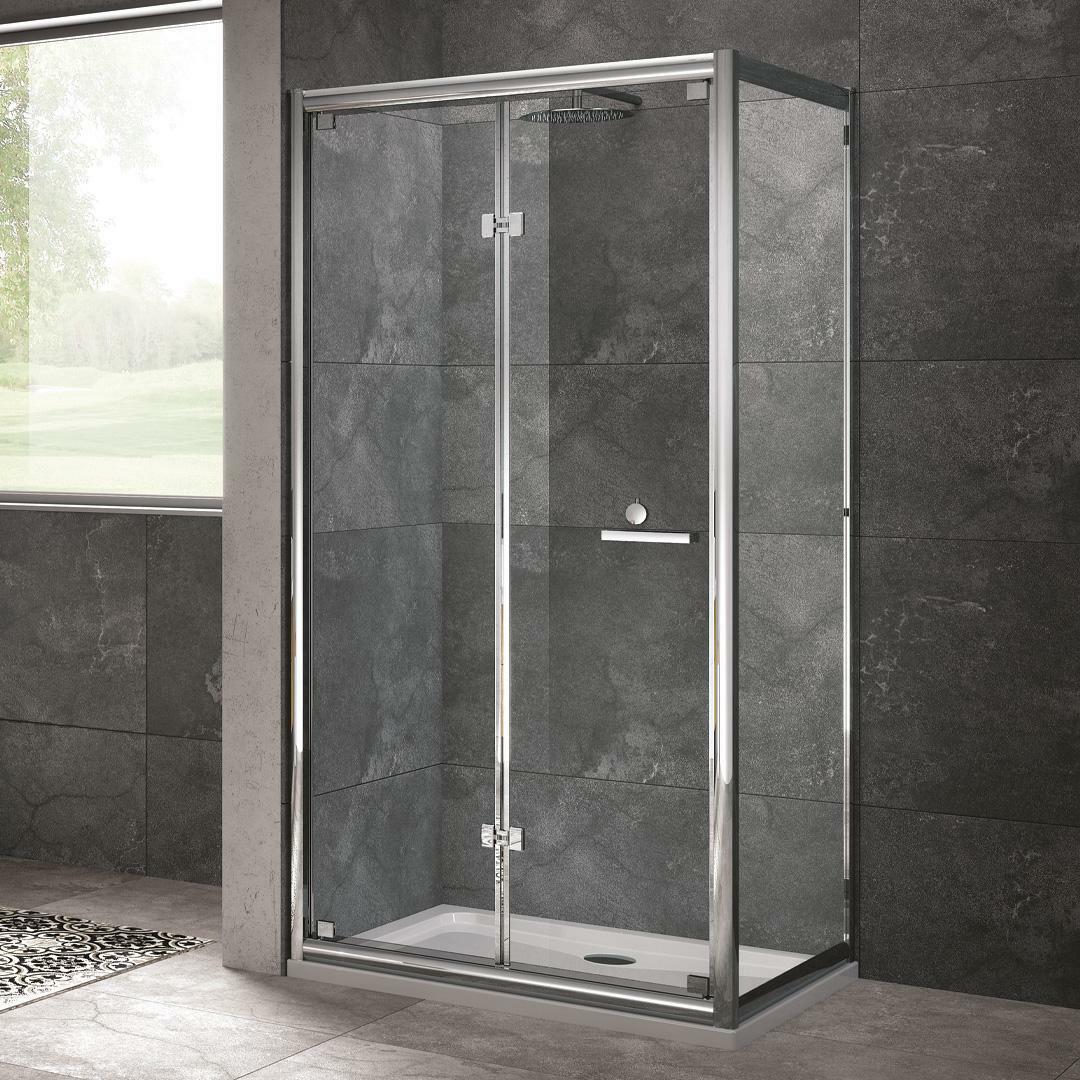 specialisti del bagno box doccia cipro porta libro e lato fisso 90x100 reversibile trasp. specialistidelbagno