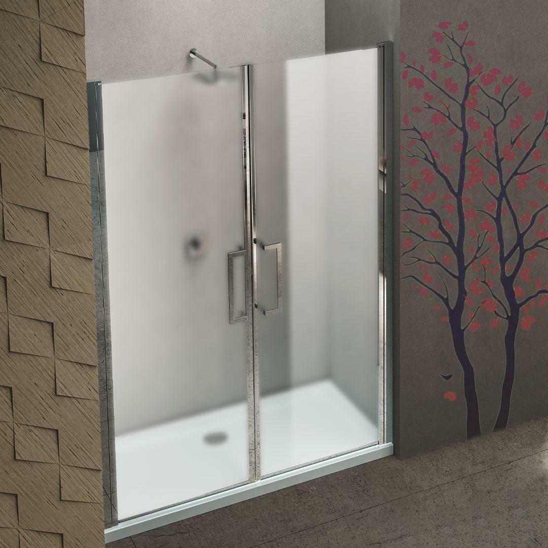 specialisti del bagno box doccia minori porta saloon a nicchia 95 reversibile crepe' specialistidelbagno