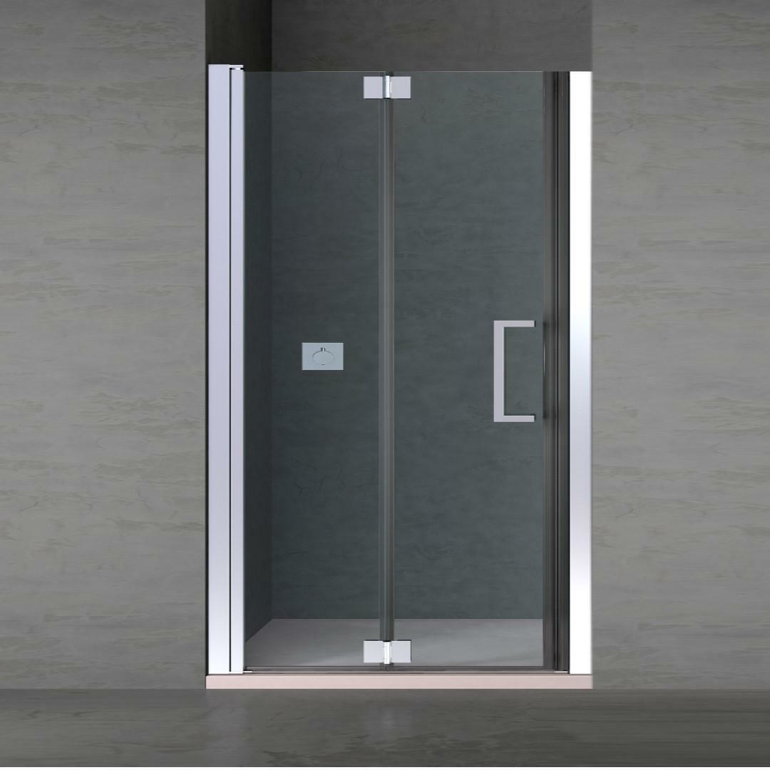 specialisti del bagno box doccia ostuni nicchia porta libro 75 reversibile trasp. 8mm specialistidelbagno
