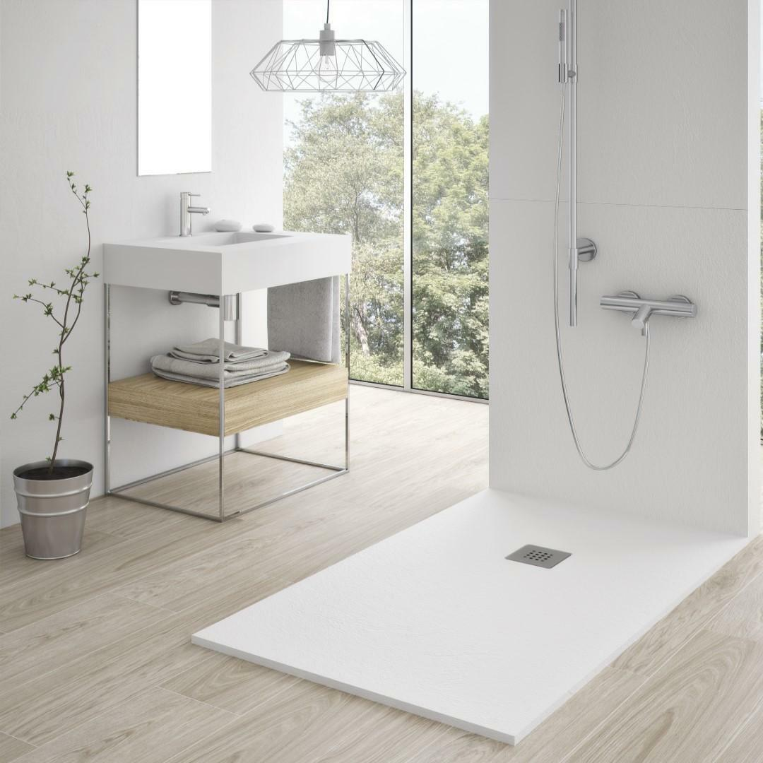 specialisti del bagno piatto doccia stone in marmoresina ultraflat senza bordo 70x90 h2,7 specialistidelbagno