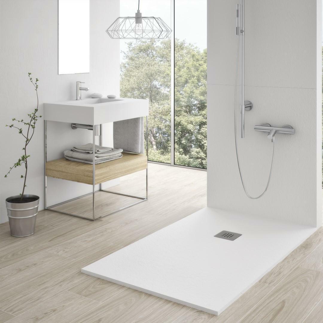 specialisti del bagno piatto doccia stone in marmoresina ultraflat senza bordo 80x100 h2,7 specialistidelbagno