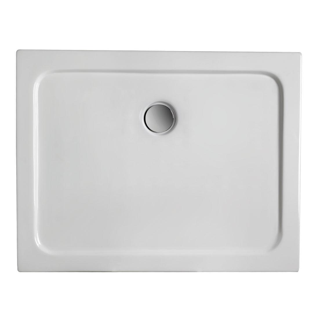 specialisti del bagno piatto doccia regular con bordo rettangolare 70x100 h5 specialistidelbagno