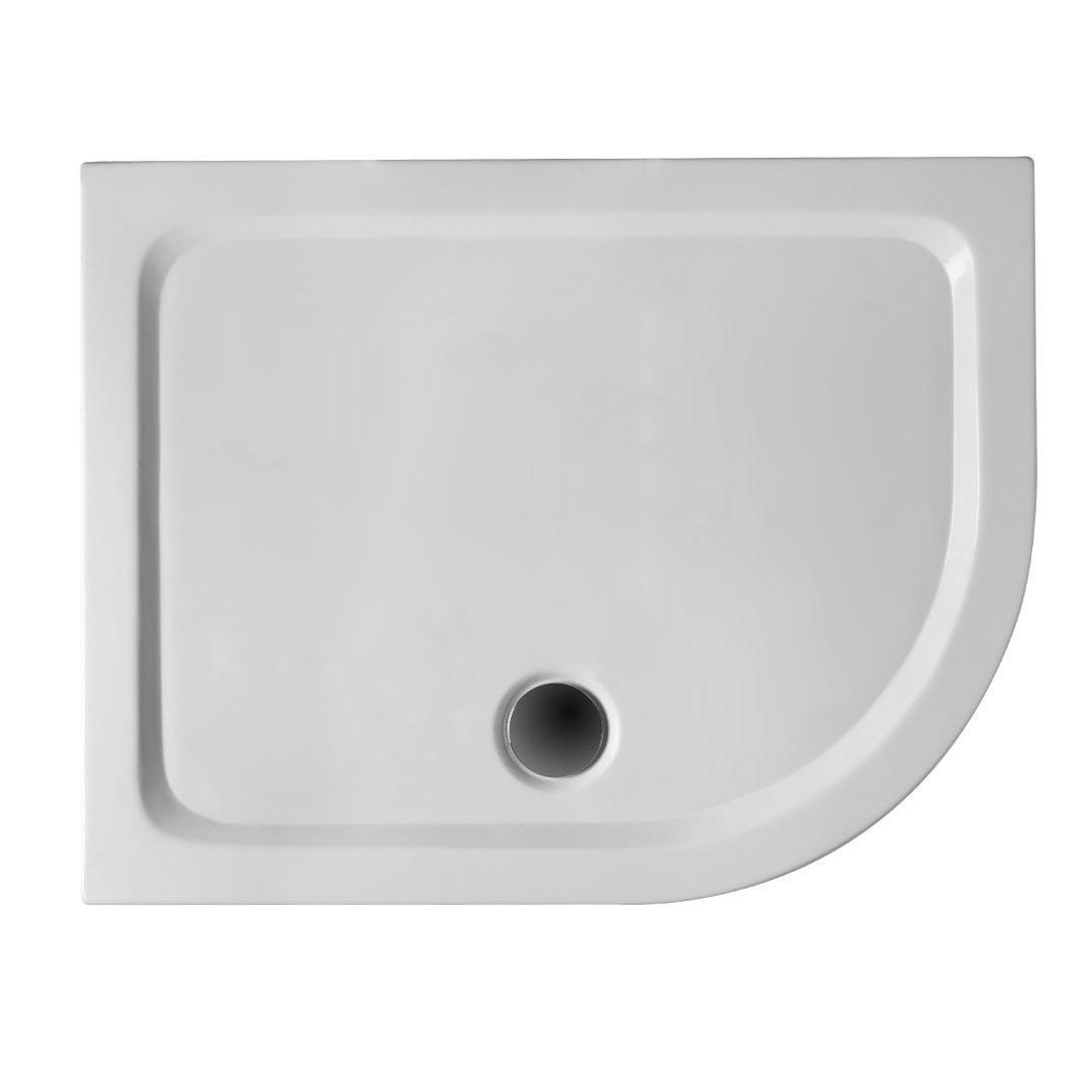 specialisti del bagno piatto doccia regular con bordo asimmetrico 70x90 sinistro h5 specialistidelbagno