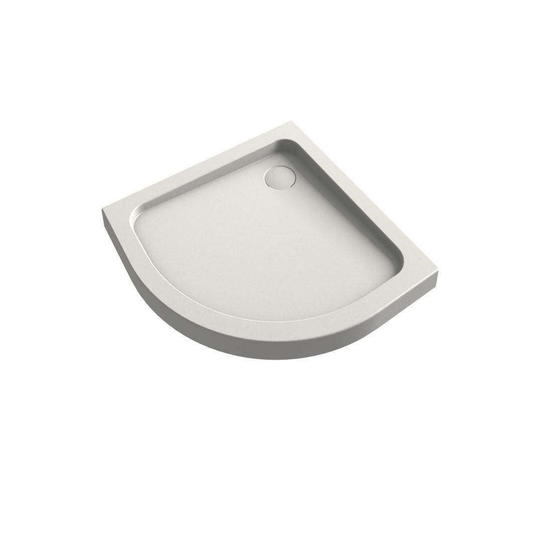 specialisti del bagno piatto doccia regular con  bordo semicircolare 80x80 h5 specialistidelbagno