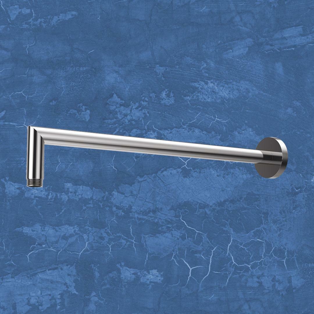 specialisti del bagno braccetto per soffione doccia tondo in acciaio inox specialistidelbagno