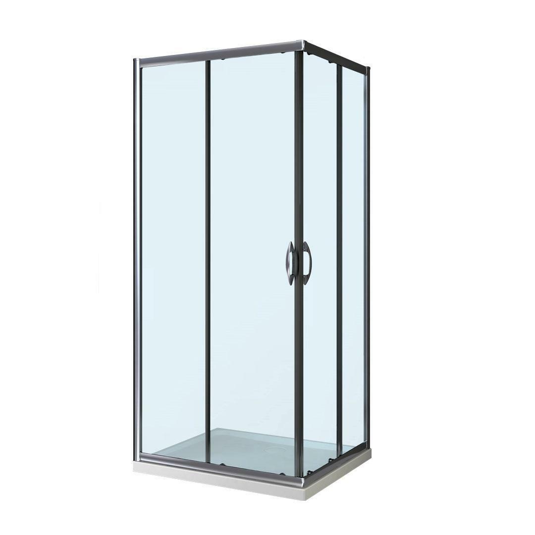 specialisti del bagno box doccia malaga scorrevole 75x75 reversibile trasparente  specialistidelbagno