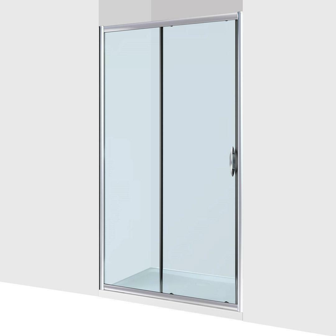 specialisti del bagno box doccia malaga porta nicchia 110 reversibile trasp. specialistidelbagno