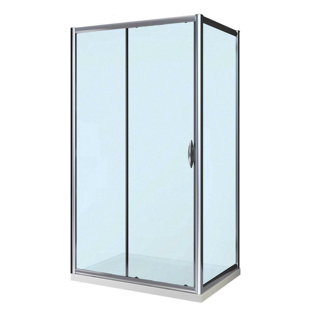 specialisti del bagno box doccia malaga porta scorrevole e lato fisso 90x100 reversibile crepé specialistidelbagno