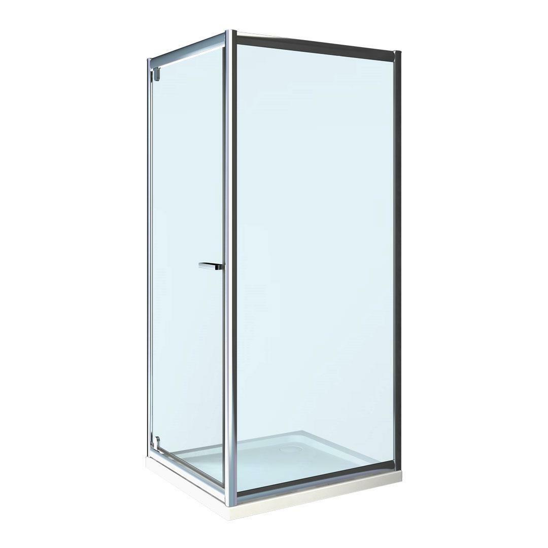 specialisti del bagno box doccia lepanto porta battente e lato fisso 90x90 reversibile trasp. specialistidelbagno