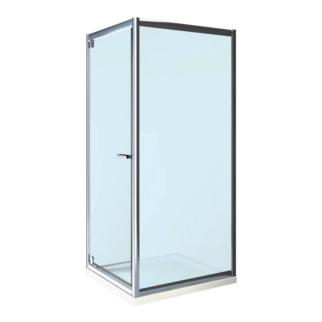 specialisti del bagno box doccia lepanto porta battente e lato fisso 90x100 reversibile crepé specialistidelbagno