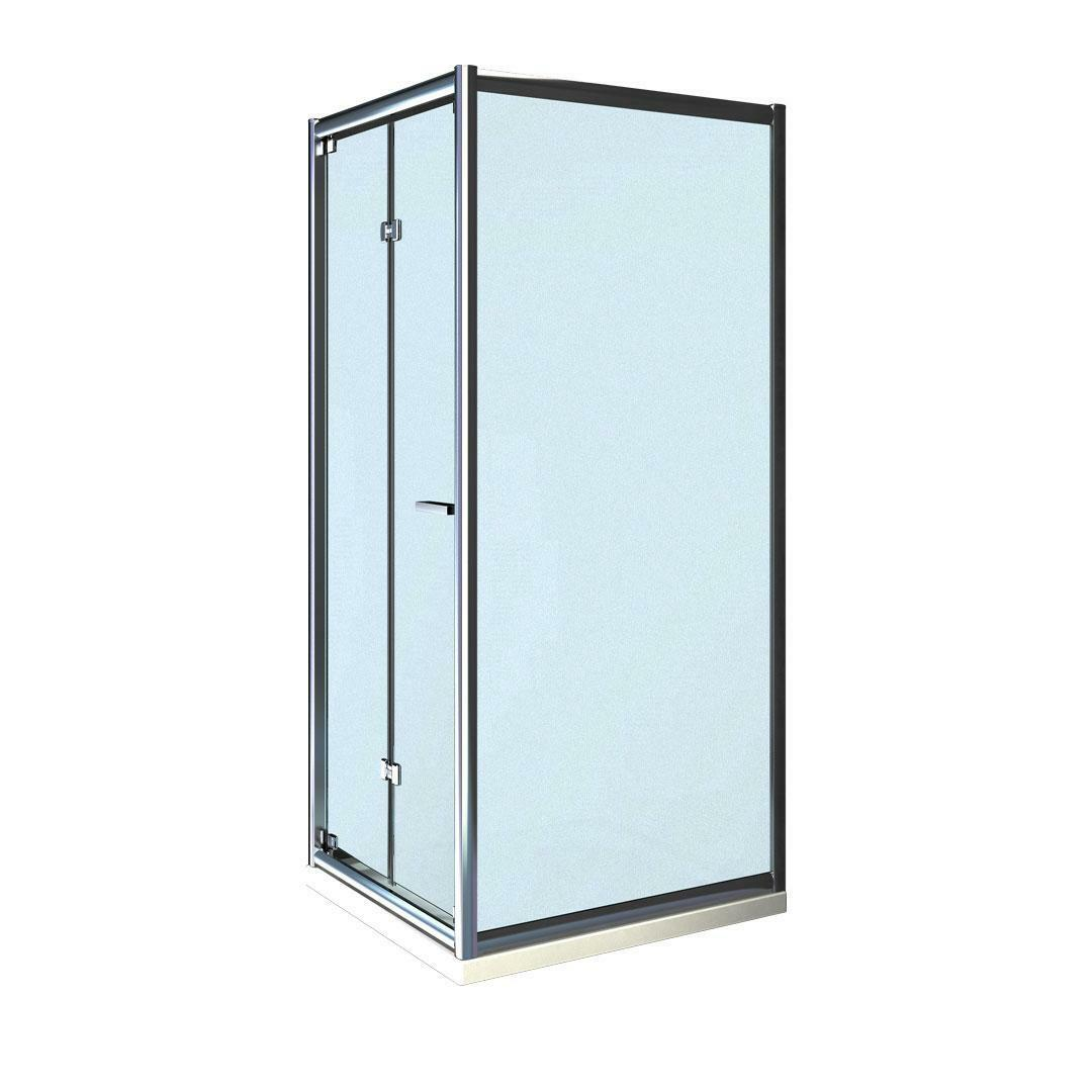 specialisti del bagno box doccia cipro porta libro e lato fisso 90x105 reversibile crepé specialistidelbagno
