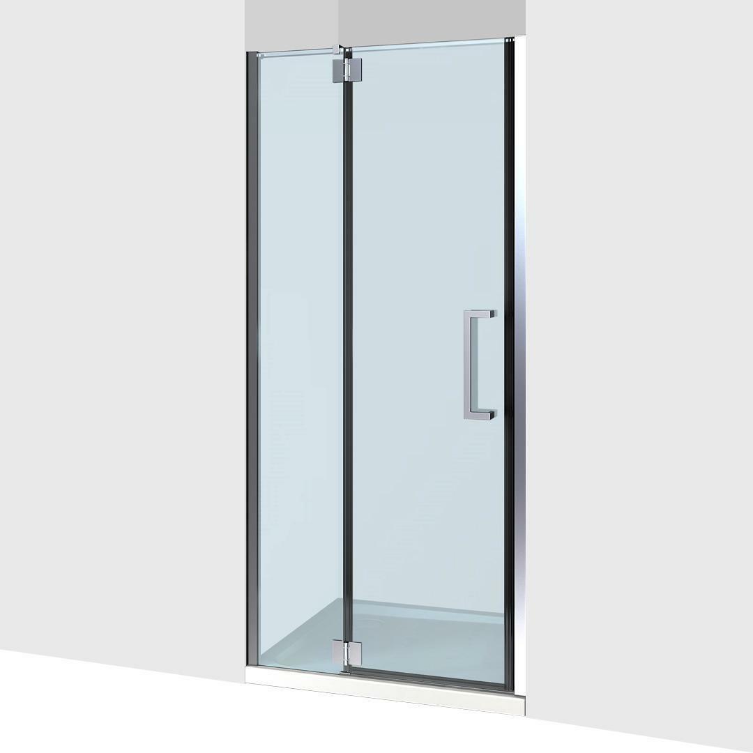 specialisti del bagno box doccia cannes nicchia porta battente 75 reversibile trasparente 8mm specialistidelbagno