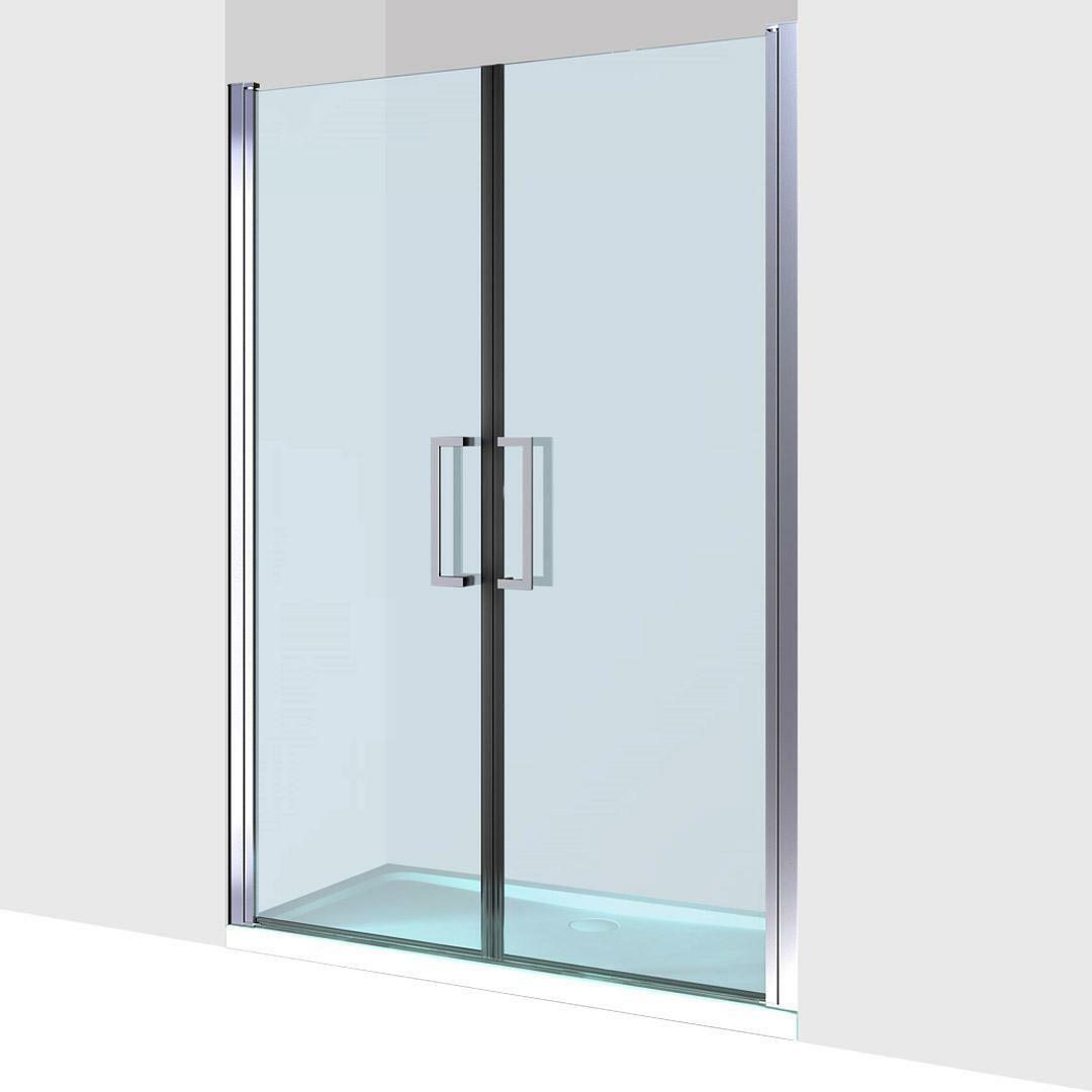 specialisti del bagno box doccia minori porta saloon a nicchia 100 reversibile trasparente specialistidelbagno