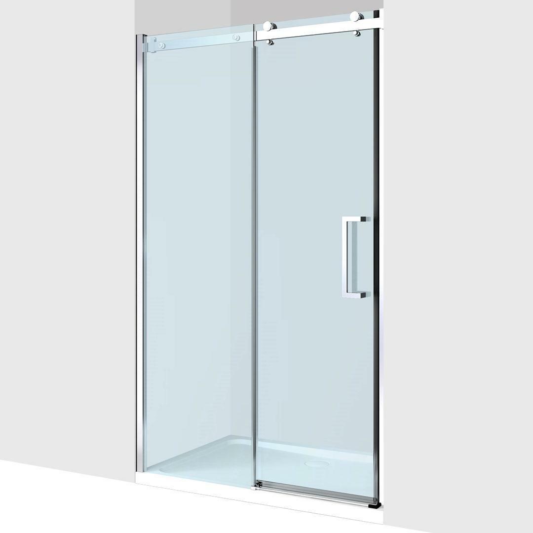 specialisti del bagno box doccia nizza porta nicchia 110 reversibile trasp. 8mm specialistidelbagno