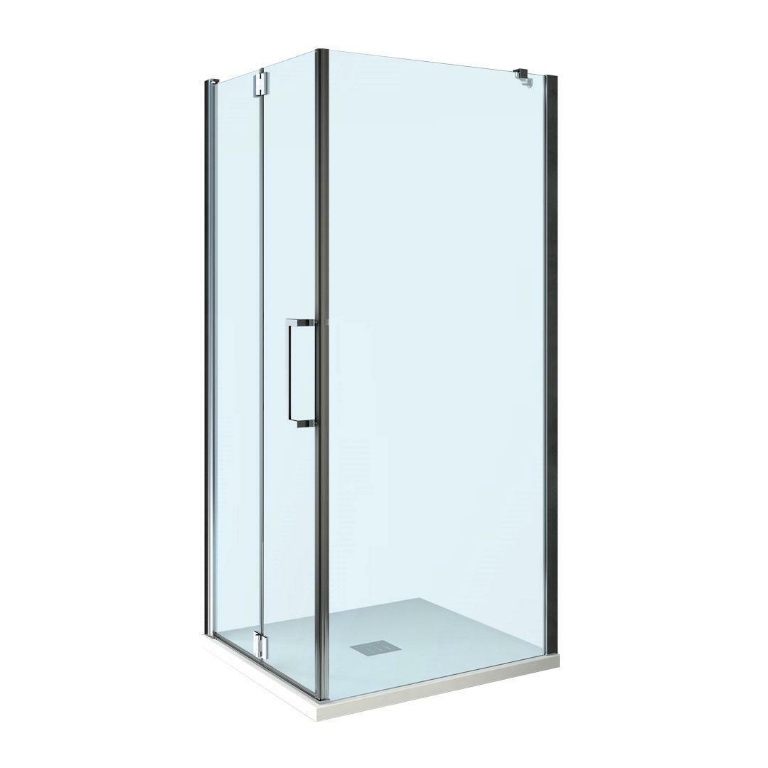specialisti del bagno box doccia ostuni porta libro con fisso 90x90 reversibile trasp. 8mm specialistidelbagno