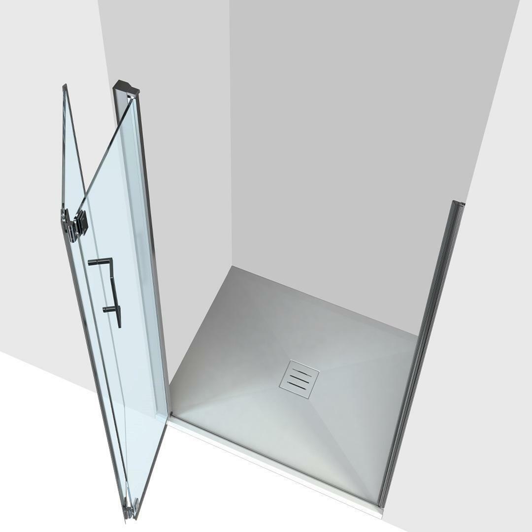 specialisti del bagno box doccia ostuni nicchia porta libro 70 reversibile trasp. 8mm specialistidelbagno