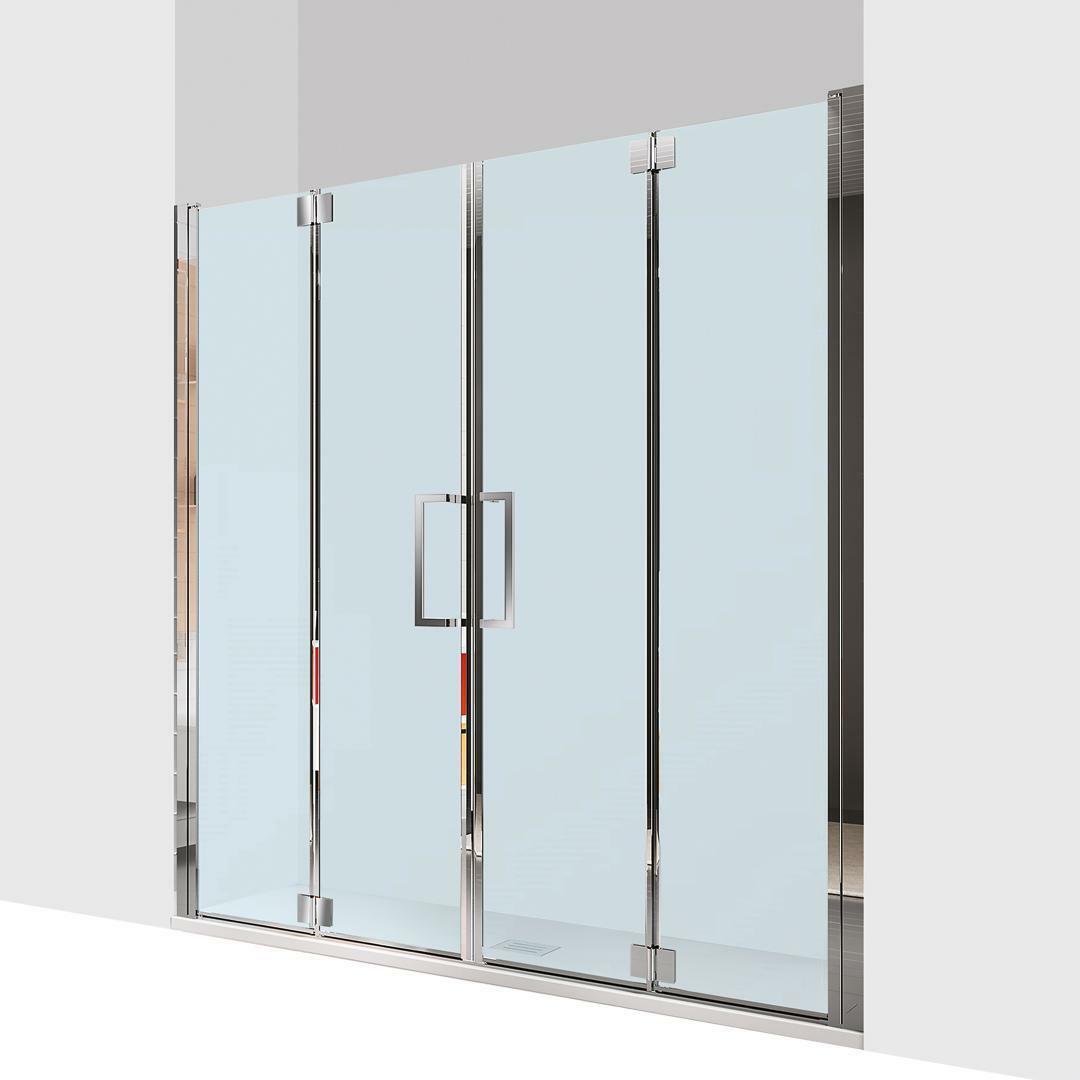 specialisti del bagno box doccia ostuni nicchia doppia porta libro 200 reversibile trasp. 8mm specialistidelbagno