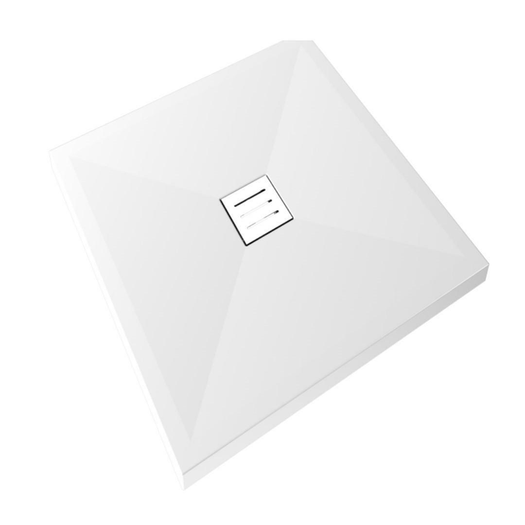 specialisti del bagno piatto doccia diamond flat senza bordo quadrato 75x75 h4 specialistidelbagno
