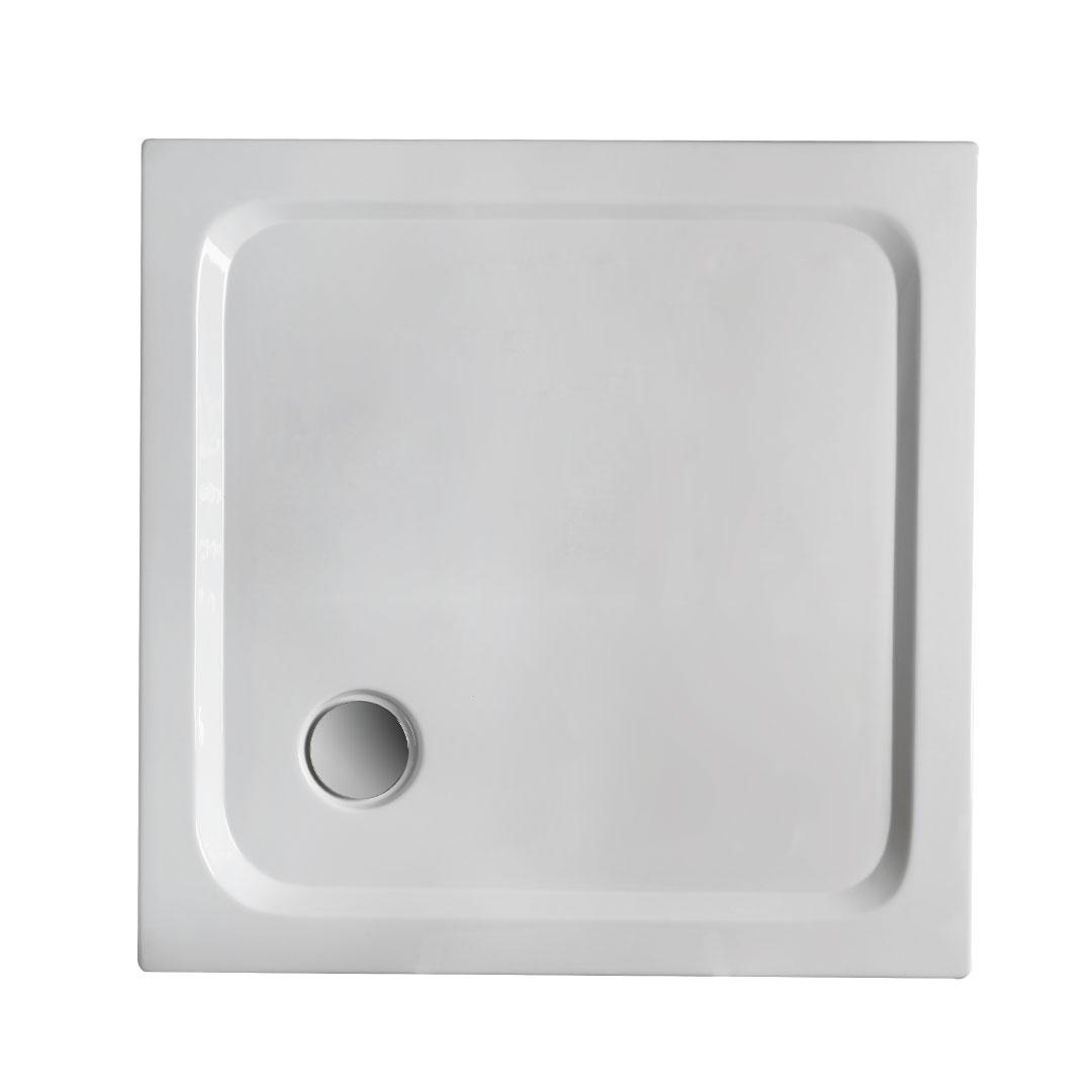 specialisti del bagno piatto doccia regular con bordo quadrato 75x75 h5 specialistidelbagno