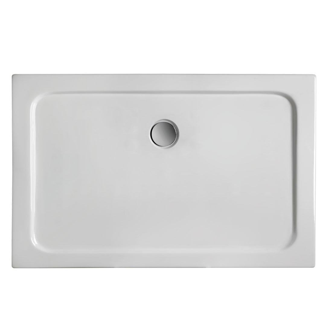 specialisti del bagno piatto doccia regular con bordo rettangolare 80x140 h5 specialistidelbagno