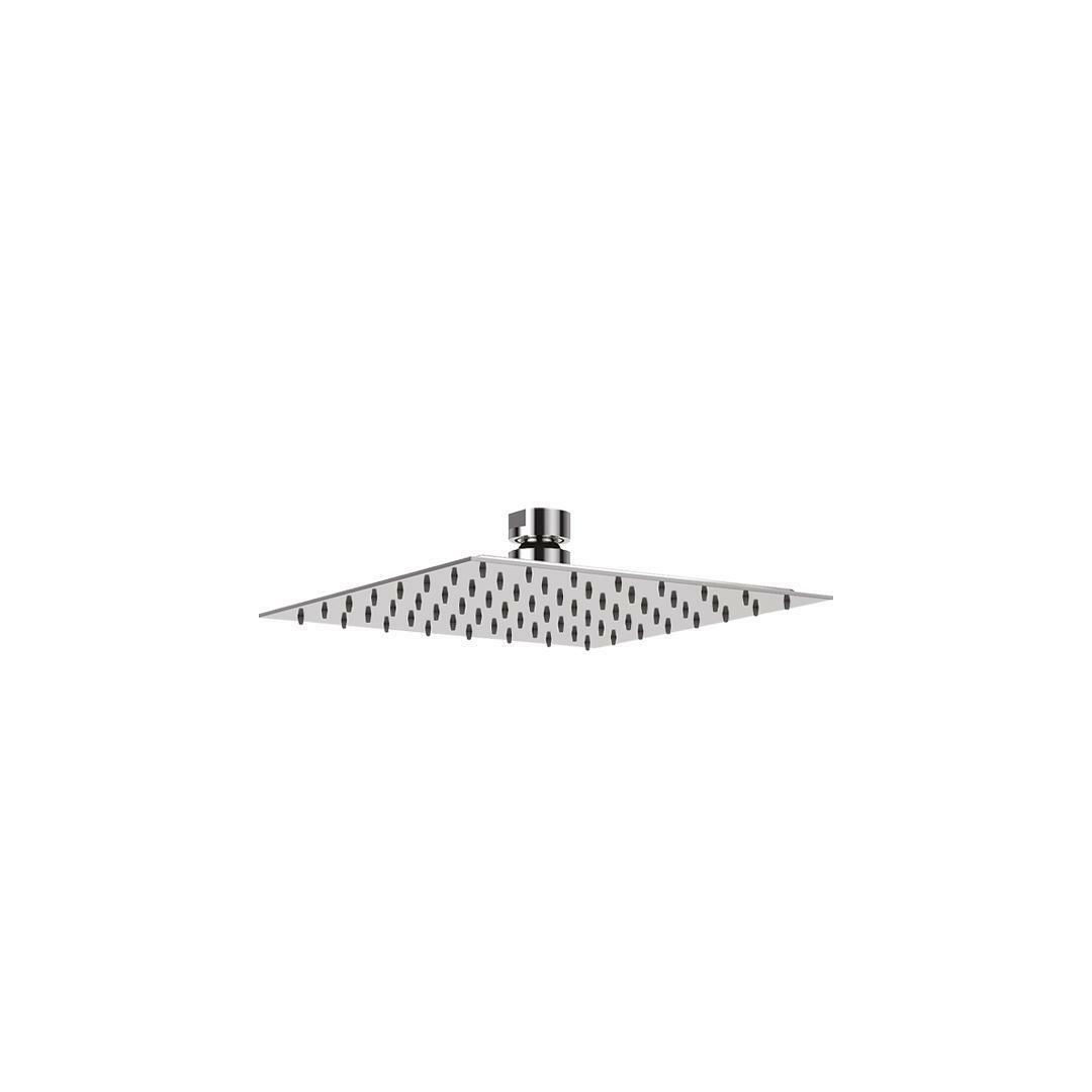 specialisti del bagno soffione ultraslim in  acciaio inox quadrato 20x20 cm specialistidelbagno