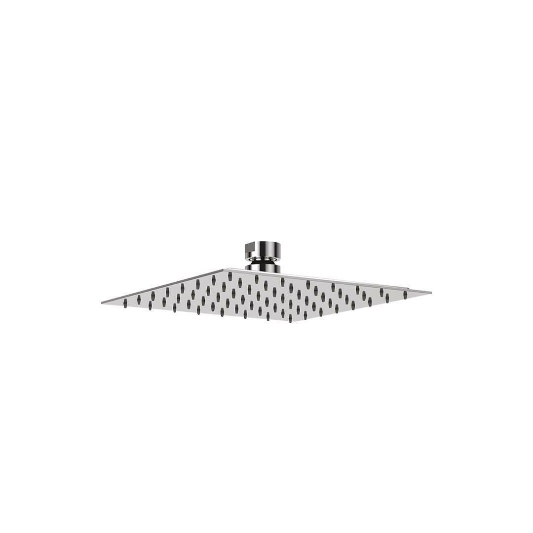 specialisti del bagno soffione ultraslim in  acciaio inox quadrato 25x25 cm specialistidelbagno