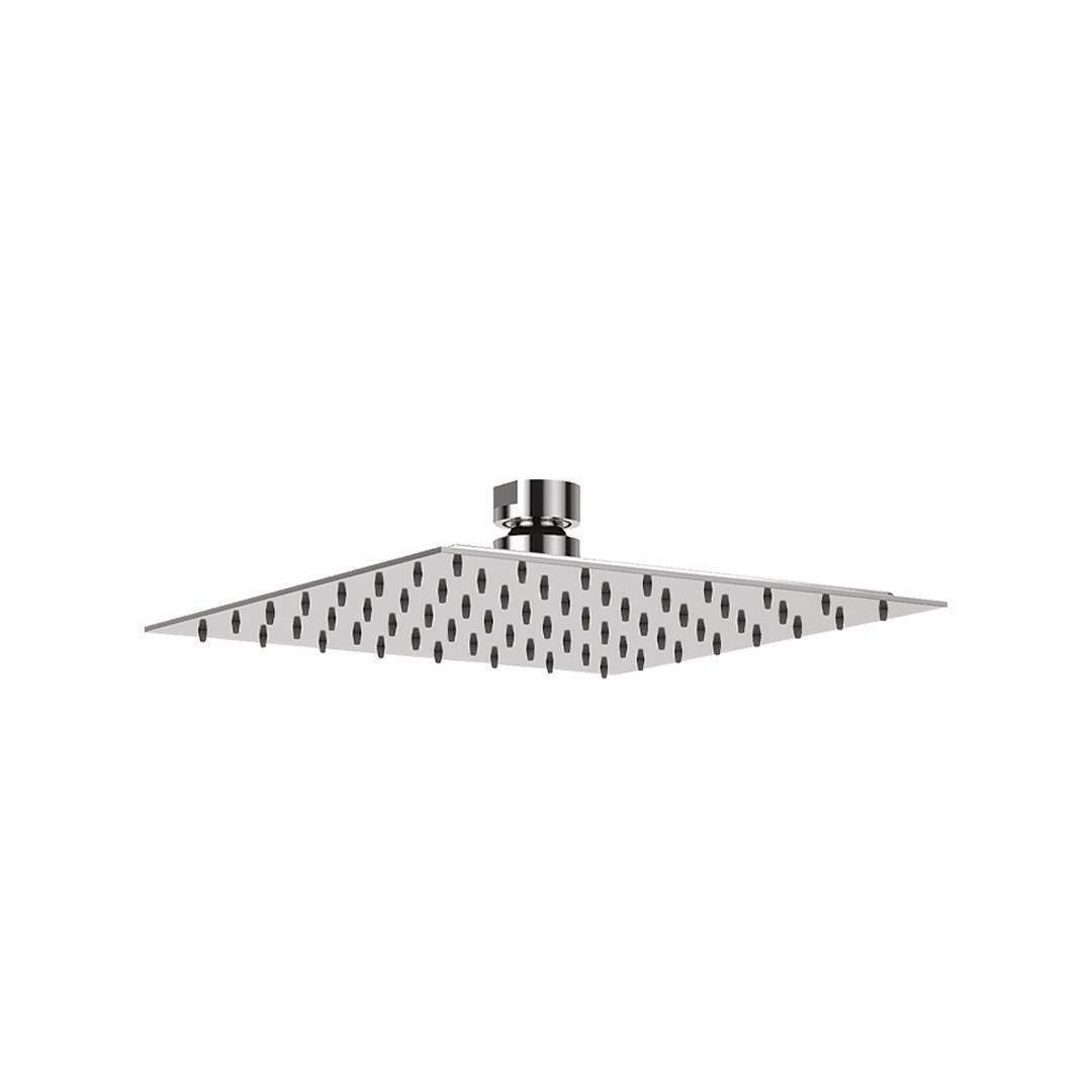 specialisti del bagno soffione ultraslim in  acciaio inox quadrato 30x30 cm specialistidelbagno
