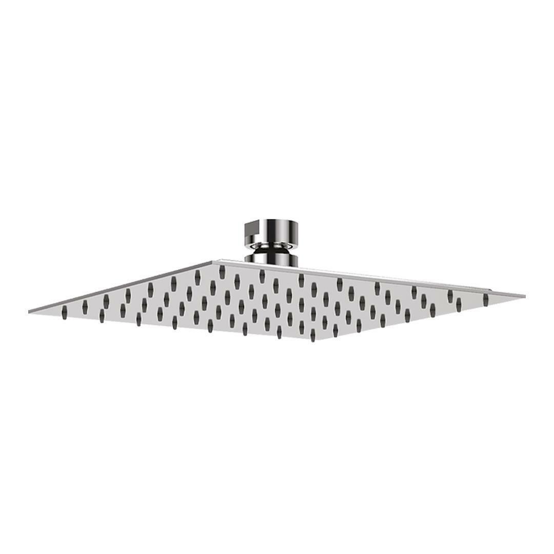 specialisti del bagno soffione ultraslim in  acciaio inox quadrato 40x40 cm specialistidelbagno