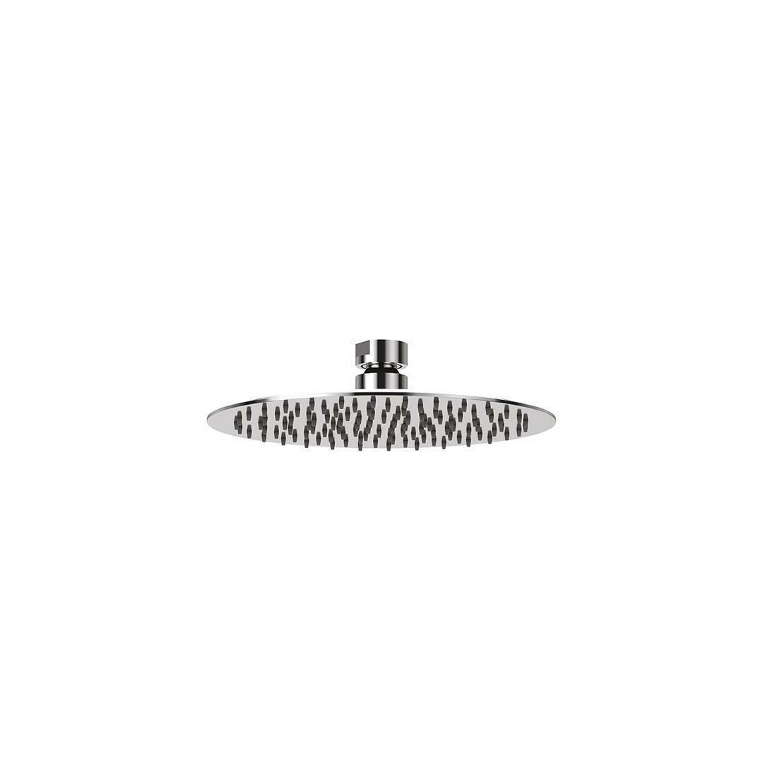 specialisti del bagno soffione ultraslim in  acciaio inox tondo diametro 20 cm specialistidelbagno